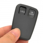 AML031205 Replacement 2-Button Remote Key Shell Case for Volvo - Black