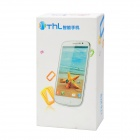 "THL W8S Android 4.2 Quad-Core WCDMA Bar Phone w/ 5.0"" Capacitive Screen, Wi-Fi and GPS - White"