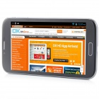 "MIZ Z6 MTK6589 Quad-Core Android 4.2.1 WCDMA Bar Phone w/ 6.0"" , Wi-Fi, FM and GPS - Grey"