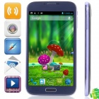 "MIZ Z6 MTK6589 Quad-Core Android 4.2.1 WCDMA Bar Phone w/ 6.0"" , Wi-Fi, FM and GPS - Dark Blue"