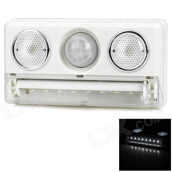 Buy L1137 0.5W 60lm Motion Sensor White LED Cabinet Lamp - White with Litecoins with Free Shipping on Gipsybee.com