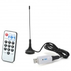 RTL2832U + R820T Mini DVB-T + DAB+ + FM USB Digital TV Dongle - White + Silver