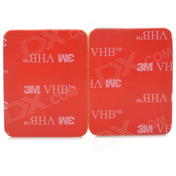 Buy 3M A-SC Waterproof Mount Stickers for GoPro - Red + Yellow (2PCS) with Litecoins with Free Shipping on Gipsybee.com