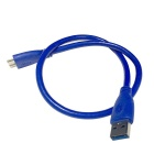 USB 3.0 Flash Drive Data Cable - Blue