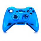 Replacement-ABS-Full-Case-for-Xbox-360-Wireless-Controller-Blue