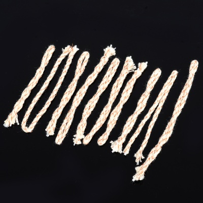 Replacement Cotton Wick for Oil Lighter - Beige (10 PCS)