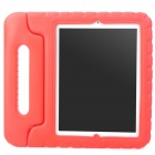 Thick-Shockproof-Plastic-Back-Case-w-180-Degree-Rotatable-Handle-Holder-for-Ipad-2-3-4-Red