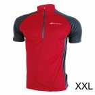 NUCKILY-NJ601-Mountain-Road-Bicycle-Cycling-Short-Sleeves-Jersey-Red-2b-Black-(Size-XXL)
