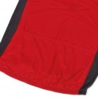 NUCKILY NJ601 Mountain / Road Bicycle Cycling Short Sleeves Jersey - Red + Black (Size-XXL)