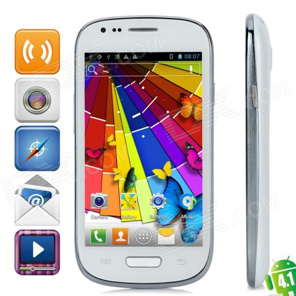 "S9920 (9920)  Android 4.1 Dual-Core WCDMA Bar Phone w/ 4.0"" Touch Screen, Wi-Fi and GPS"