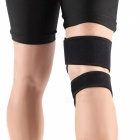 Adjustable Sport Elastic Knee Support Pad Protector - Black
