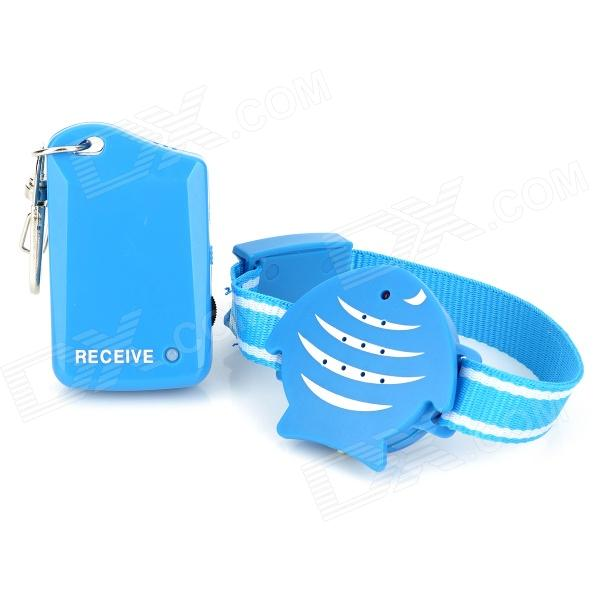 Buy Creative Wireless Plastic Kids / Valuables Anti-lost Alarm Set - Blue with Litecoins with Free Shipping on Gipsybee.com