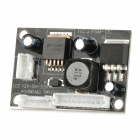 20907 DC to DC Buck Converter 12V à 5V 3.3V LED Module Step-down - noir + blanc