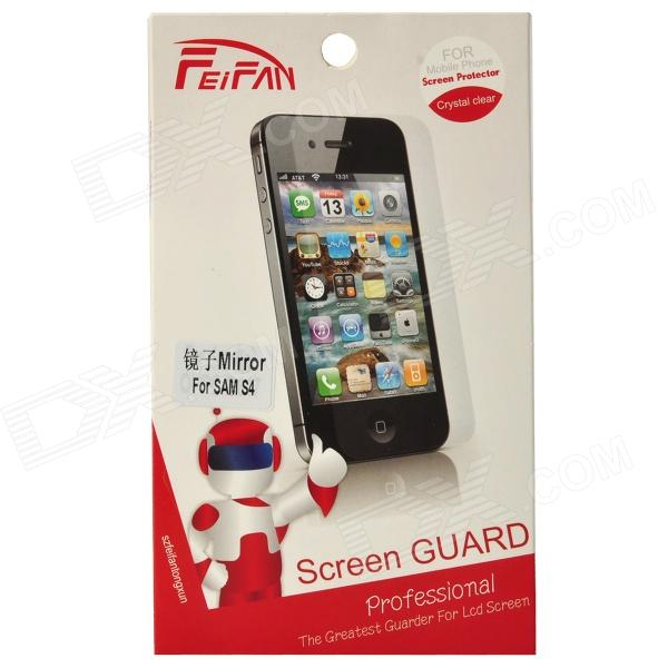 Suojaava PET peili Screen Protector Guard Film Samsung Galaxy S4 i9500