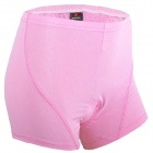 NUCKILY NS360 Women's Cylcling Pants Shorts - Pink (Size L)