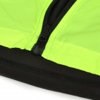 NUCKILY V10 Men's Water-resisting Air-permeable Sleeveless Cyling Vest - Green + Black (Size L)