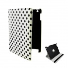 360-Degree-Rotation-Protective-PU-Leather-Smart-Case-for-Ipad-2-3-4-Black-2b-White