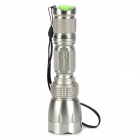 UniqueFire UF-M6 650lm 5-Mode Memory White Flashlight w/ CREE XM-L T6 - Silver (1 x 18650)
