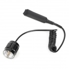 Tailcap Pressure Switch for UltraFire 501B/501N Flashlight - Black