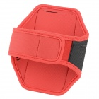 Cas Arm Band Mode Sport Gym pour LG NEXUS 4/E960/E970/Optimus G - Rouge + Noir