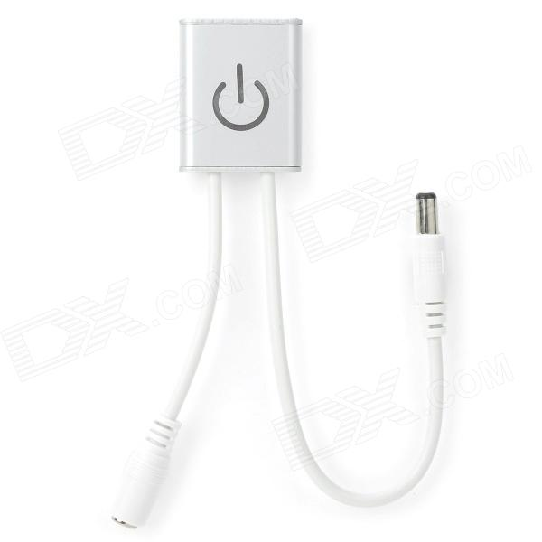 Buy 36W DC LED Touch Dimmer w/ Switch for LED Lamp - White (DC 12 / 24V) with Litecoins with Free Shipping on Gipsybee.com
