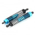 HSP 108004 Aluminum Alloy Shock Absorber for 1/10 R/C Car - Black + Blue (2 PCS)