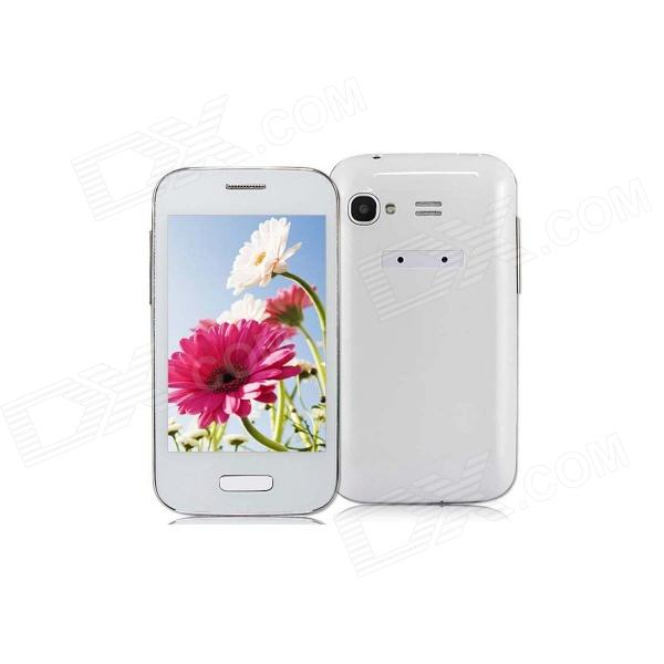 "9500 Mini Android 4.1.1 GSM Smartphone w/ 3.5"" Capacitive Screen, 512MB RAM, 2GB ROM Wi-Fi - White"