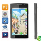 "H3038 Dual-Core Android 4.1 GSM Bar Phone w/ 4.5"" Screen, Quad-Band, Wi-Fi and Dual-SIM - Black"