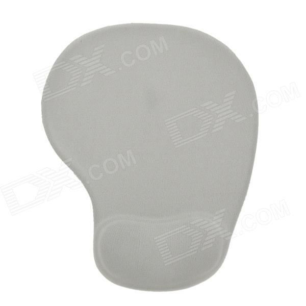 Buy Ergonomically Gel Wrist Rest Mouse Pad - Grey (20 x 23cm) with Litecoins with Free Shipping on Gipsybee.com