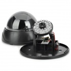 Realistic Looking Dummy Surveillance Dome Camera with Red Blinking LED - Black (2 x AA)