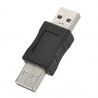 USB 2.0 macho a adaptador macho - negro