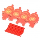 AL-588 2 Chinese Style Wedding Candy Box - Red (10 PCS)