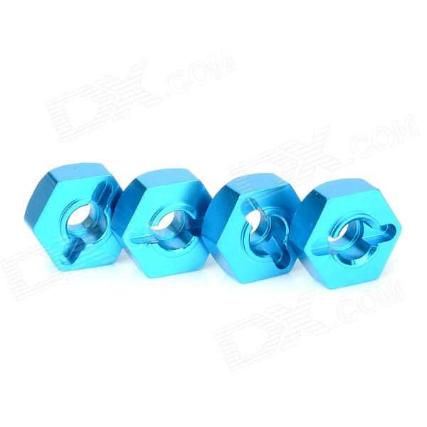 122042 Aluminium Alloy Hex Hubs Drive for 1/10 R/C Model Car - Blue