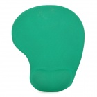 Mouse Pad with Gel Wrist Support - Green