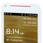 "KVD X920e Android 4.1.1 GSM Bar Phone w/ 5.0"" Capacitive Screen, Quad-Band and Wi-Fi - White"