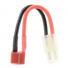 Tamiya Male to T-Plug Female Electric Battery Adapter Cable