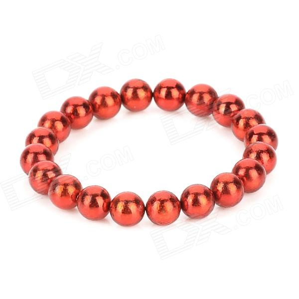 5mm Neodymium Magnet Sphere Steel Balls DIY Puzzle Set - Red (20 PCS)Magnets Gadgets<br>ModelNQuantity20MaterialNdFeBPacking List20 x Magnet spheres<br>