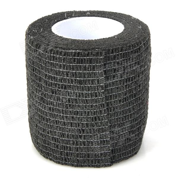 Buy Constable Convenient Self-adhering Elastic Non-woven Fabric Bandage - Black (450cm) with Litecoins with Free Shipping on Gipsybee.com