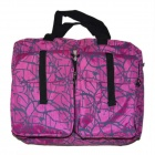 Double-Duty Transformation Bag - Deep Pink + Black