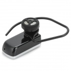 Universal Mini Bluetooth V2.0 Handsfree Headset - Svart + Silver