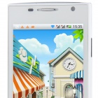 "H3038 Android 4.1.1 MTK6517 Dual Core GSM Bar Phone w/ 4.5"", Quad-Band, FM and Wi-Fi - White"