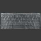 """Protective PP Keyboard Protector for 13.3""""""""/15.5"""" MacBook Pro - White"""