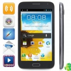 "KVD 7100 MTK6575 Android 4.1.1 WCDMA Bar Phone w/ 5.2"" Capacitive, Wi-Fi, FM and GPS - Black"