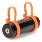 T-02 Natación Buceo impermeable MP3 Player w / FM Radio + auricular - Negro + Naranja (8GB)