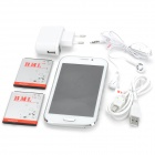 "BML S4 (SPHS on Hsdroid) Android 4.1 GSM Bar Phone w/ 5.0"" Screen, Quad-Band and Wi-Fi - White"