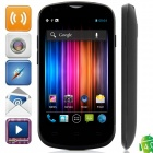 "A209W Dual-Core Android 4.0.9 WCDMA Bar Phone w/ 4.0"" Capacitive Screen, FM, GPS and Wi-Fi - Black"