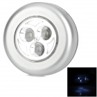 0.8W 70lm 7000K 3-LED Bluish White Car Touch Light / Dome Ligh
