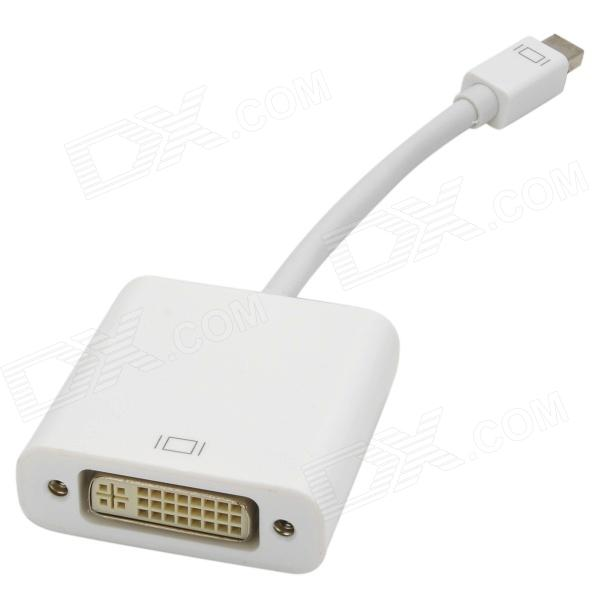 MINI Male to Female Adapter Cable for MackBook Pro - White (15cm)