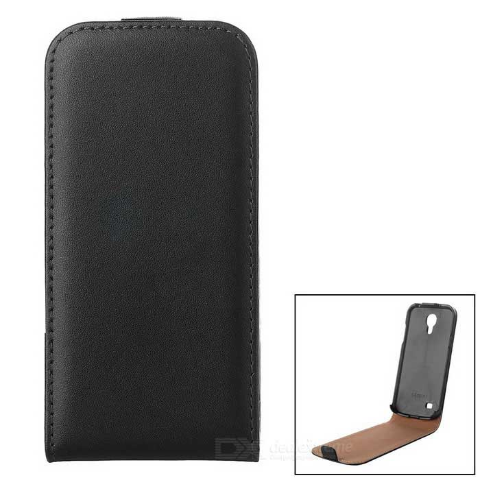 Retro Durable Flip-open Protective Leather Case for Samsung S4 Mini i9190 - BlackLeather Cases<br>ModelsSamsungMaterialLeatherForm  ColorBlackQuantity1Compatible ModelsSamsungPacking List1 x Leather case<br>
