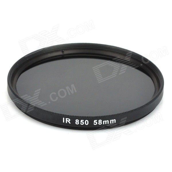 58mm 850nm Infrared IR Filter for Cameras